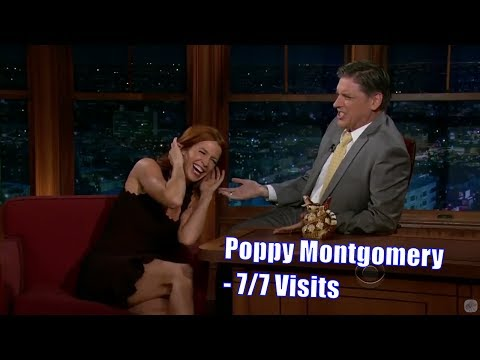 Poppy Montgomery  Mickey Mouse Saw Her Breasts  77 Visits In Chronological Order