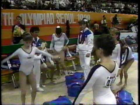 1988 U.S. Olympic Women's Team Gymnastics Compulsories