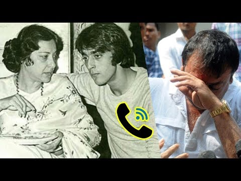 Audio Leaked: Sanjay Dutt's Mother Nargis Dutt's Last Emotional Message Which Helped Him Quit Drugs