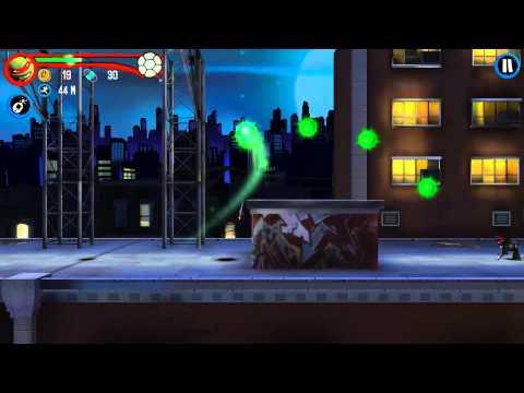 обзор игры TMNT: Rooftop run Для Android