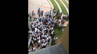 Fight at GL Bajaj greater noida