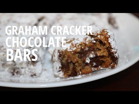 Graham Cracker Chocolate Bars