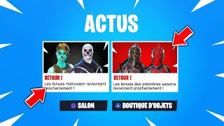 CES 7 'ANCIENS SKINS' will REVENIR at FORTNITE SAISON 6: Battle Royale!