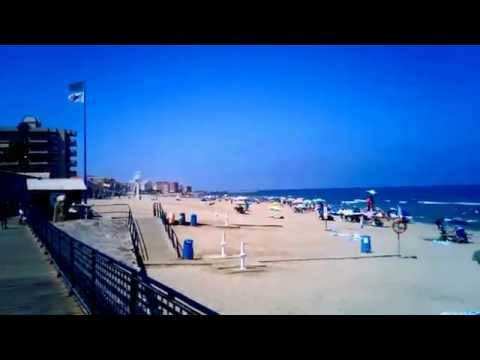 La Mata beach, Torrevieja (Alicante) but close to Murcia and full of murcian people