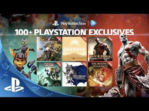 100+ PlayStation Exclusives on PlayStation Now Subscription