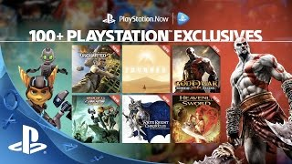 100+ PlayStation Exclusives on PlayStation Now Subscription thumbnail