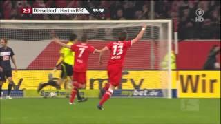 2:2 I Fortuna Düsseldorf : Hertha BSC I Relegationsspiel 15.5.2012 I Alle Tore & Highlights