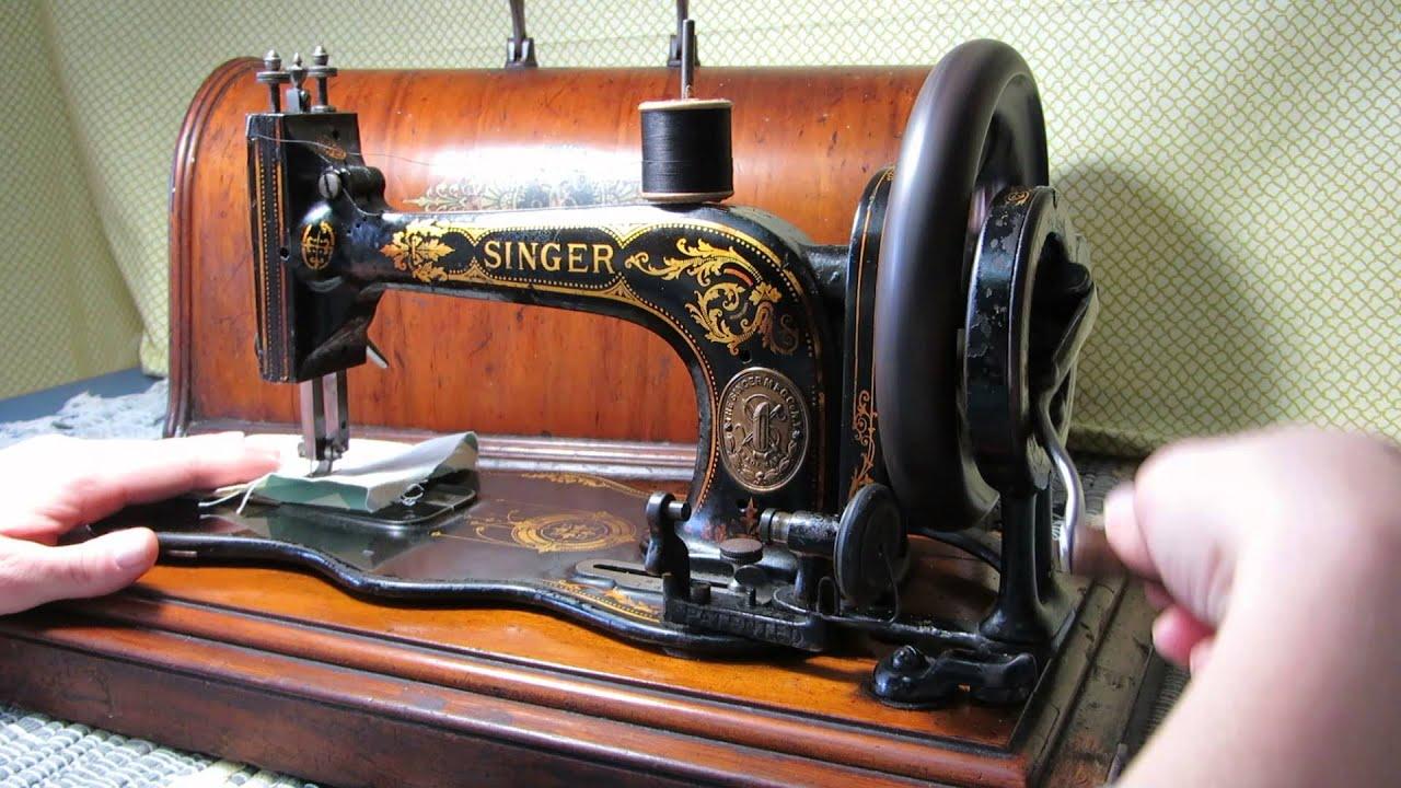 1874 singer sewing machine