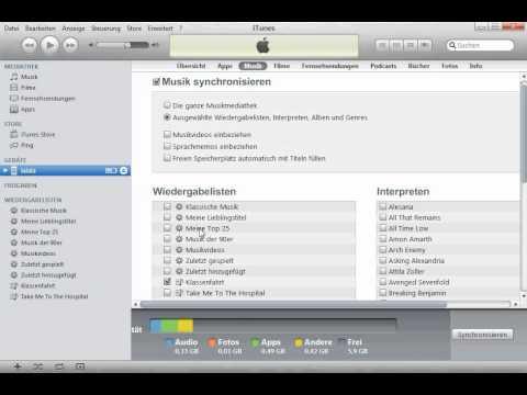 Tutorial: Wie lösche ich Musik & Fotos vom iPod + Problemlösungen