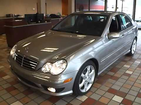 2007 mercedes benz c230 sport for sale akron ohio youtube for Mercedes benz c230 sport 2007