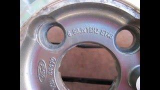 Центровочные кольца на диски автомобиля с литыми дисками(, 2016-04-09T06:04:55.000Z)
