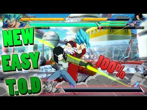 LANDING THE EASIEST T.O.D IN RANKED! | Dragonball FighterZ Ranked Matches