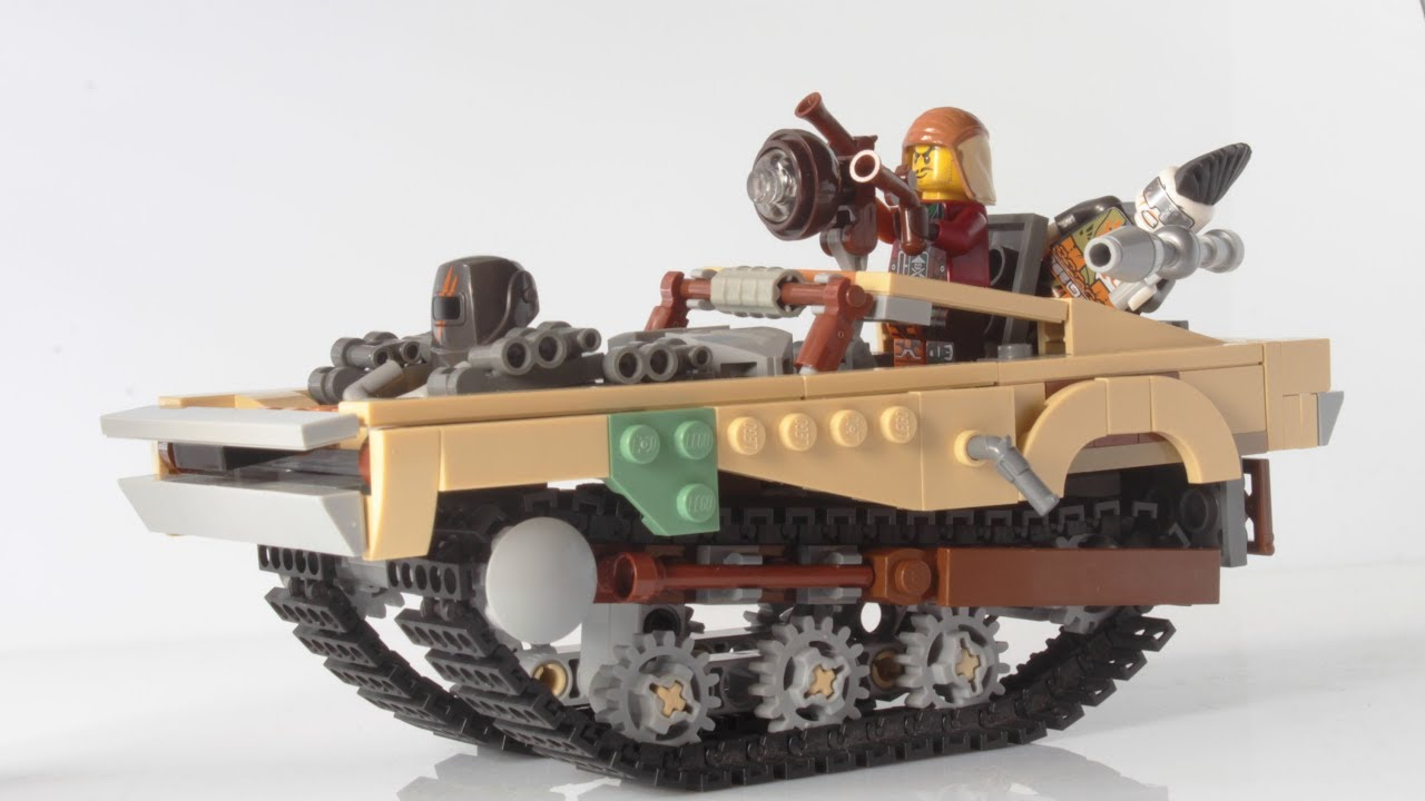 lego tank car peacemaker from mad max fury road moc youtube