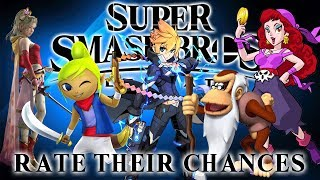 Super Smash Bros Ultimate - Rate Their Chances [22] Tetra, Terra, Capt Syrup, Cranky Kong & Gunvolt!