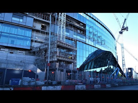Spurs New Stadium - White Hart Lane - 01 May 2018