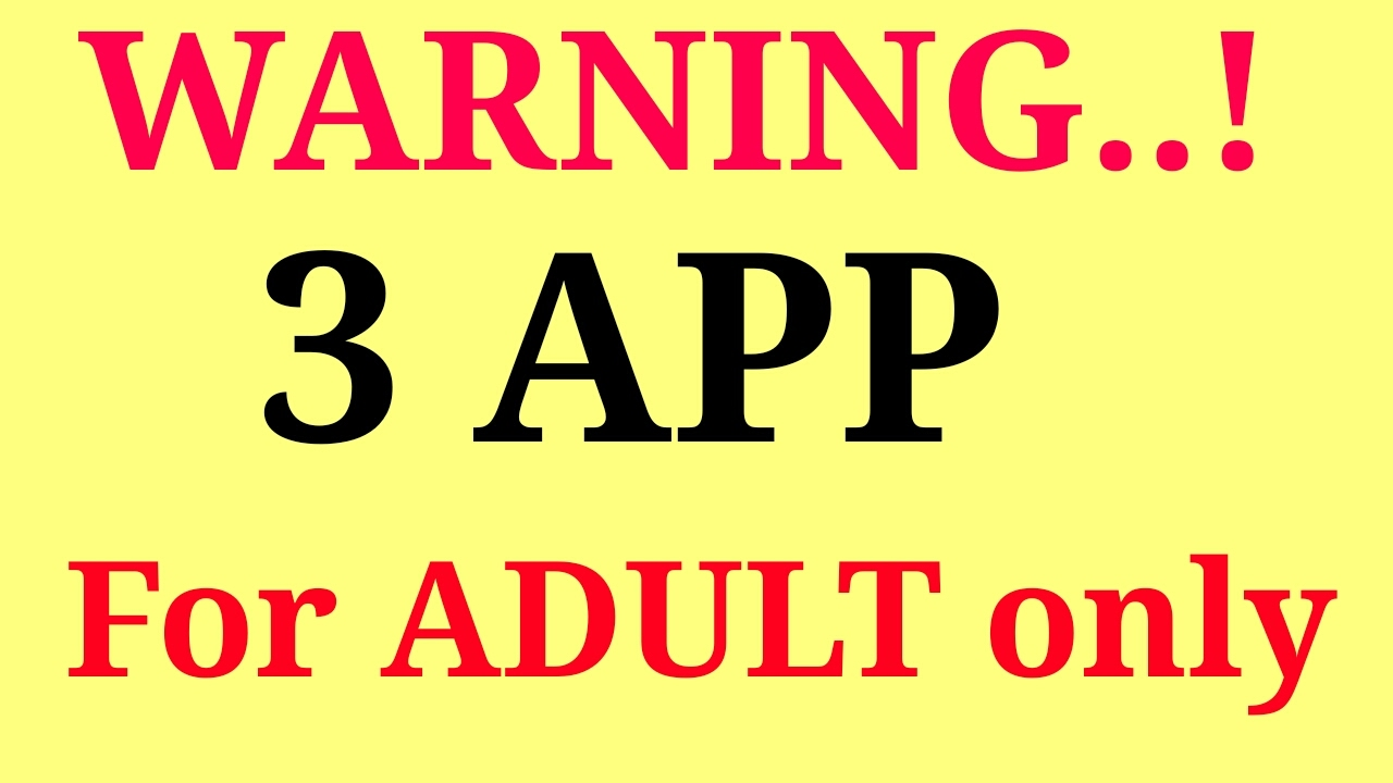 Naughty apps for adults