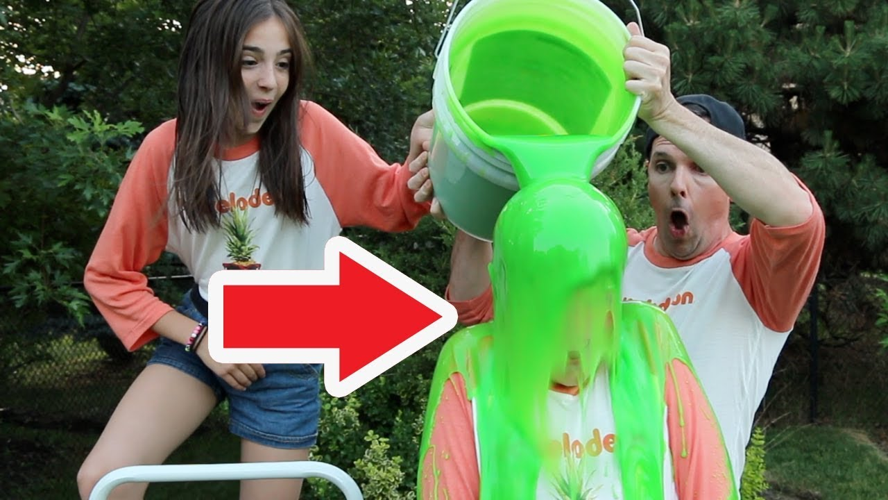 GIANT SLIME CHALLENGE!! - (Kids' Choice Sports Edition)