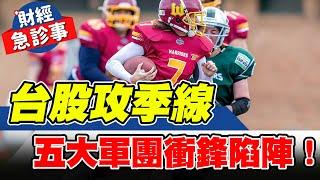 財經急診事-20211021/台股攻季線 五大軍團衝鋒陷陣!