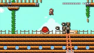 Super Mario Maker - The Winds of Fortune by Pantoki - No Commentary