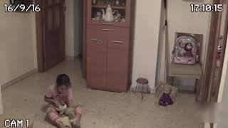 Очень страшное видео! Реальный полтергейст в квартире Москва!