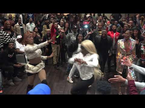 Legendary Starr Revlon vs Makayla Lanvin FF Performance Part 3 @ Mobwives: Trans Awareness Ball