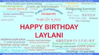 Laylani   Languages Idiomas - Happy Birthday