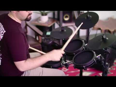 Alesis Nitro Mesh Head 8-Piece Electronic Drum Kit - All Playing, No Talking