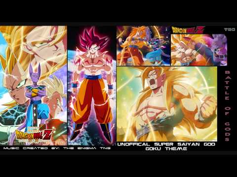 Dragon Ball Z - Unofficial Super Saiyan God Goku Theme (The Enigma TNG)