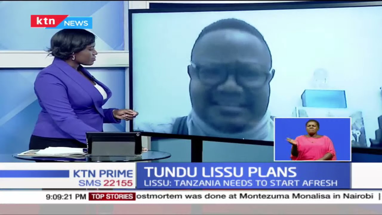 Download Tundu lissu terms death of president Magufuli as an opportunity for a new beginning for Tanzania