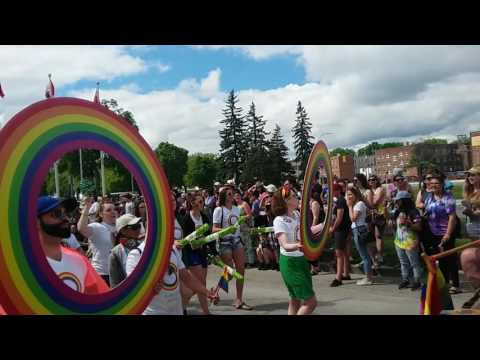 Park 1 Gay pride parade Winnipeg 2017