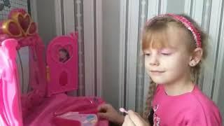 Челлендж. MakeUP на школьную дискотеку. Уроки макияжа для детей и начинающих в домашних условиях.