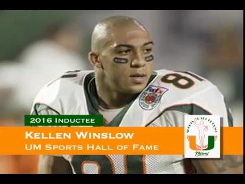 Kellen Winslow Jr. - University of Miami Sports Hall of Fame