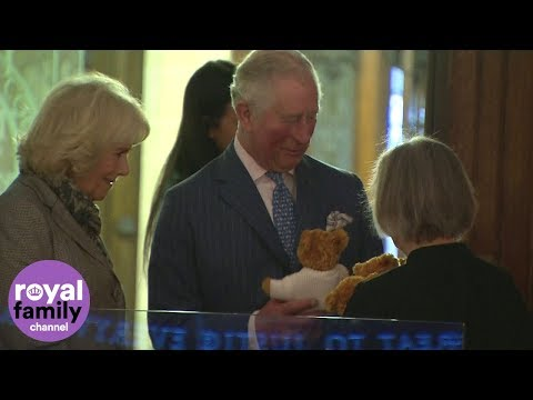 Prince Charles given teddy bears for his grandchildren