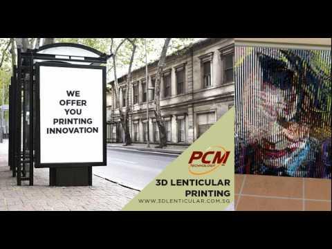 How 3D Lenticular Printing Works: Sample 1