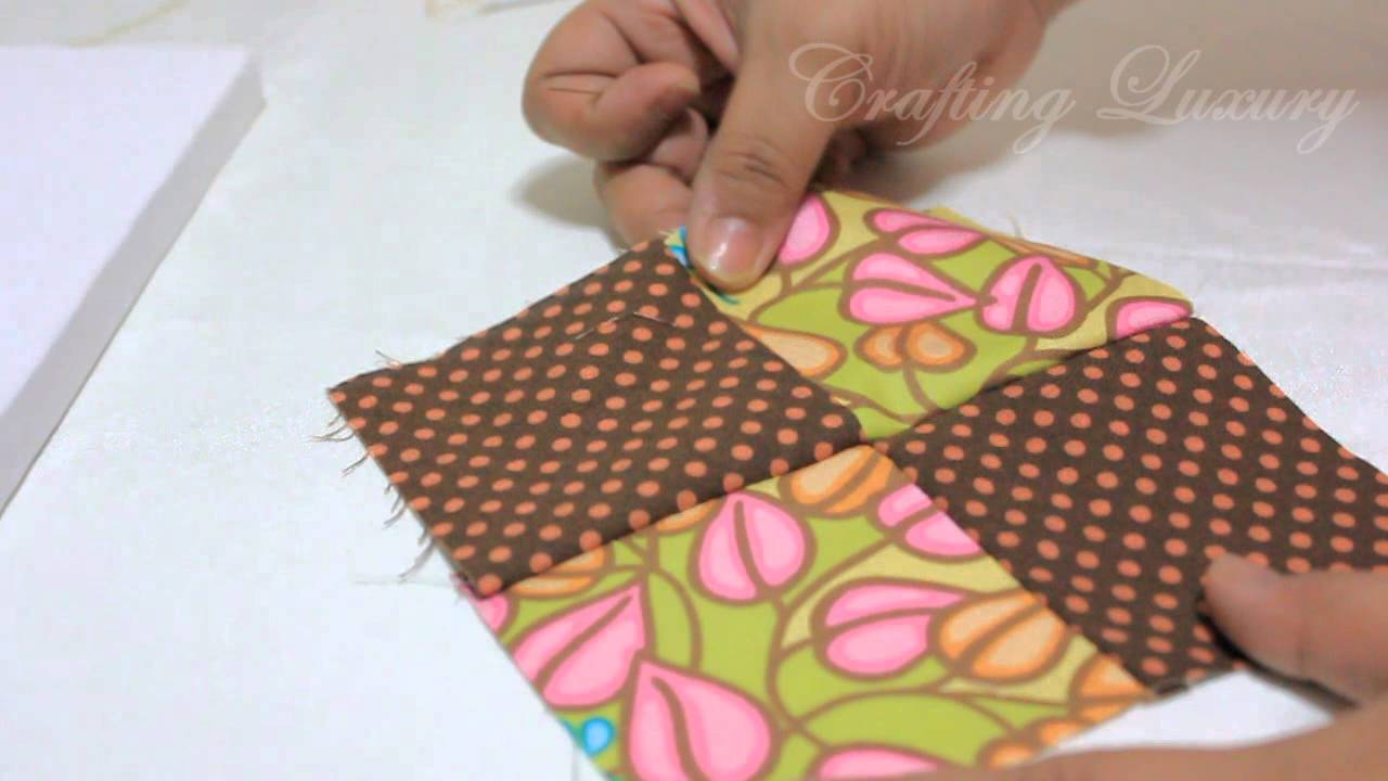 How To Sew A Pin Cushion In Under 5 Mins ! - YouTube : quilted pincushion patterns - Adamdwight.com