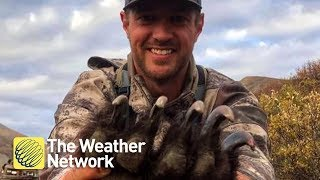 Ex-NHL player's hunting photos go viral, outrage and support pour in