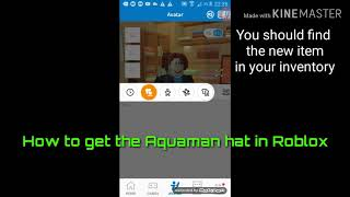How to get the new Aquaman cap for FREE on Roblox