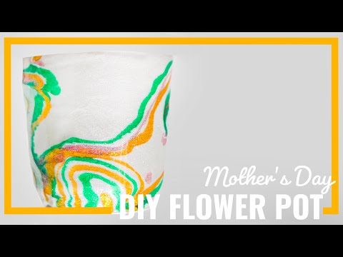 Mother's Day DIY Resin Flower Pot