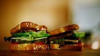 Roast Turkey Sandwich with Cranberry Pecan Mayonnaise - Sandwich Recipes QUICKRECIPES