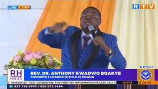 POWERFUL MOTIVATIONAL WORDS 2019 by Rev.Dr. Anthony Kwadwo Boakye