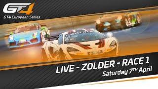 GT4 European Series  - ZOLDER 2018 - Race 1 - LIVE