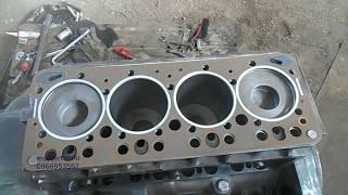 Мерседес.  Ремонт двигателя мерседес 364 часть 1.