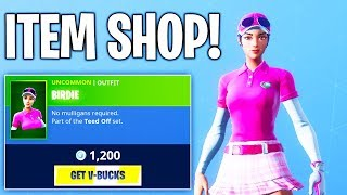 DID NOT EXPECT A NEW SKIN!... Fortnite ITEM SHOP! Daily And Featured Items!