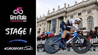 Giro d'Italia 2021 - Stage 1 Highlights | Cycling | Eurosport