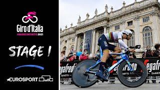 Giro d'Italia 2021 - Stage 1 Highlights | Cycling | Eurosport