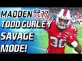Todd Gurley Enters Savage Mode! 90 Overall Beast - Madden 17 Draft Champs video