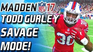 TODD GURLEY ENTERS SAVAGE MODE! 90 OVERALL BEAST - Madden 17 Draft Champs