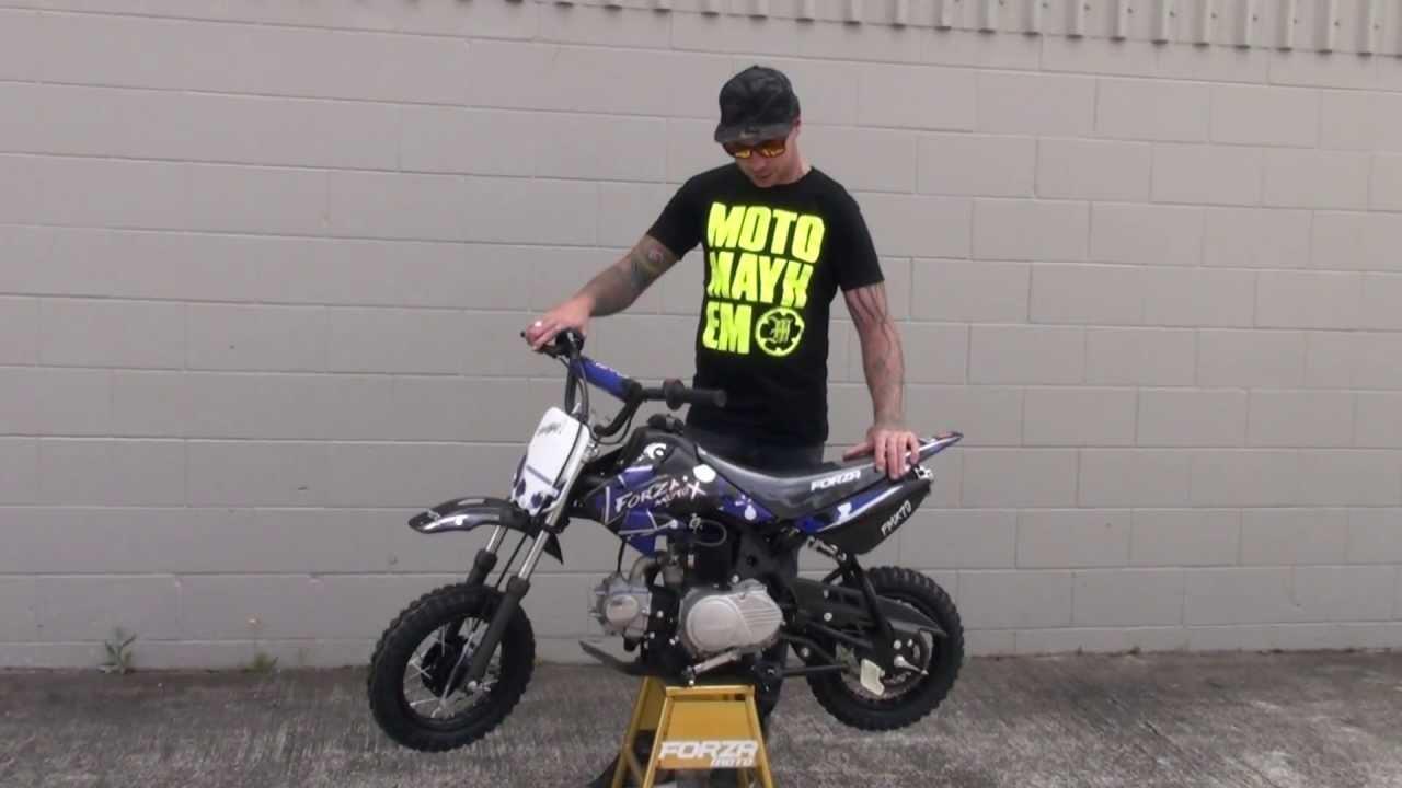 Forza FMX70 - #1 Kids Dirt Bike (Forza - NZ #1 Pit Bike) - YouTube