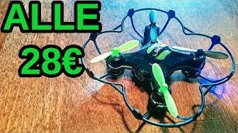 🚁 Alle 28€ Mini Drone/nelikopteri kameralla Kiinasta 🇨🇳