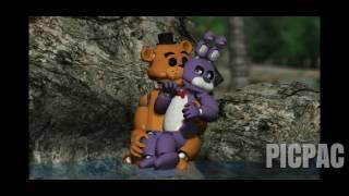 Freddy x Bonnie = FRONNIE love part 4 #picpac #timelapse